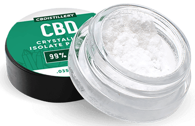 CBD isolate crystals